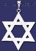 Sterling Silver DC Big Star of David Charm Pendant